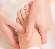 image of foot massage